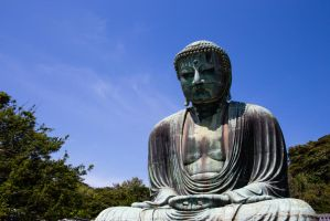 The Great Buddha of Kotoku-in by wonderflex