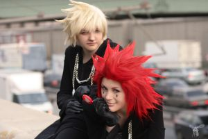 Axel and Roxas by JonneCat