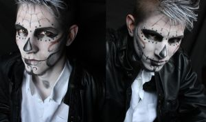 JasonXCalavera! Makeup inspired to AkiMao by SelyaMakeup