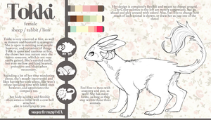 Tokki Guide Sheet by SUGARFRENZY