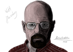 Walter White AKA Heisenberg (Coloured) by JineteNegro666
