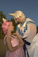 Princess Chibiusa and Helios by NaughtsApproach