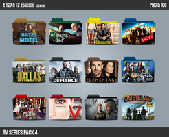 TV Series Folder ICON Pack4 by kasbandi