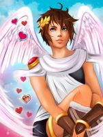 Kid Icarus Uprising - Pit by Kisse-san