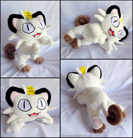 Floppy Beanie Meowth by xBrittneyJane