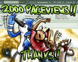 2000 PAGEVIEWS!! by MarcusThomas