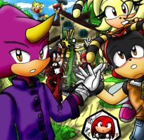 .:Say Cheese Chaotix:. by Jen-C