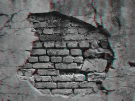 Hole in the Wall 3-D conversion by MVRamsey