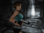 A Hint Of Light - Lara Croft by andersoncathy