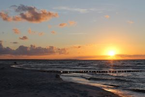 Sunset at the baltic sea by LaEpona
