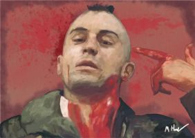 Travis Bickle by TheRaRaRabbit