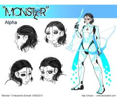 Month of ''Monster'' - Day 08 - Alpha by Chaos--Child