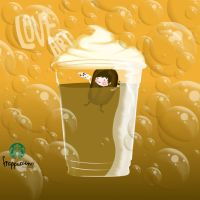 The Art of Frappuccino . by caitlin-soulia