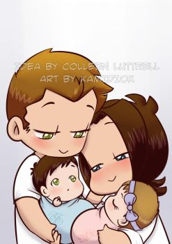 Paid Commission: Real Angels by KamiDiox