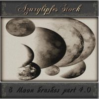 moonbrushes part 4.0 by AzurylipfesStock