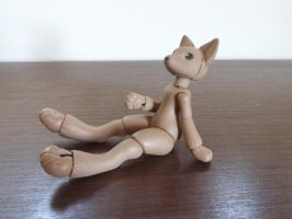 WIP: Anthro Fox BJD 04 by vonBorowsky