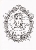 Alice In Wonderland - Front Cover Idea by SketchMcDraw