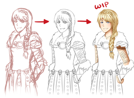 Astrid Wip by SimplyOnions