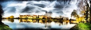 Lodge with HDR style effect by jrbamberg