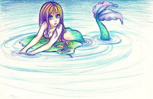 Mermaid by Anime-Angelz