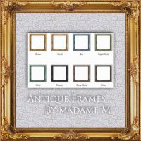 Antique Frames Squ by MadameM by Cutoutstock