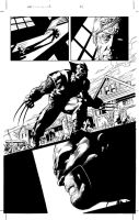 Wolverine Roar: Page 23 Pencil by MikeDeodatoJr