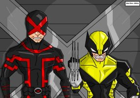 JoeProCEO's Cyclops And Wolverine 2014 by JoeProCeo
