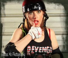Roller Derby 1 by ExposeMePhotography