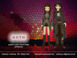 audition goth couple by Cashamaq