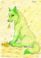 Ginro pup by ArtemisA-wolf