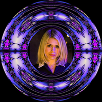 Decorative Plate - Doctor Who - Rose by FlyingMatthew