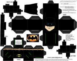 DCF1: Batman '89 Cubee by TheFlyingDachshund