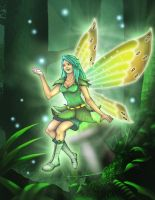 Lucia - Light of the Forest Fairy by Thriller-Man