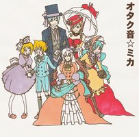 Vocaloids London 1840 by OtakuneMika
