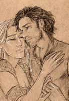 The Steward and the shieldmaiden by oboe-wan