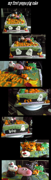 My first Halloween cake by PaddysDemon