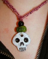 Skull and Green by T-Thomas