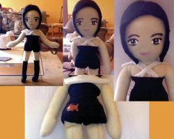 alizee plush by freakycustom