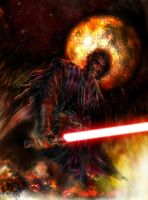 Sith Lord Anakin by OmnisBlade