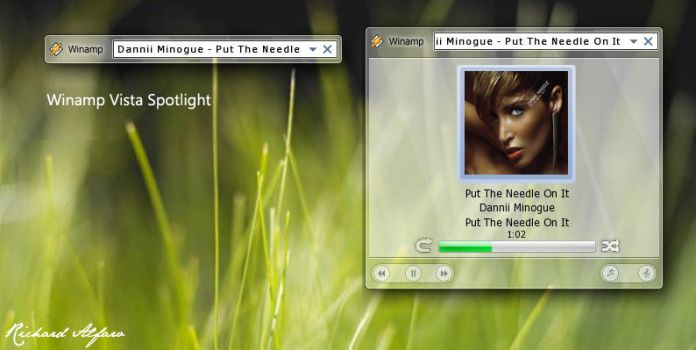Winamp Vista Spotlight by elralfaro