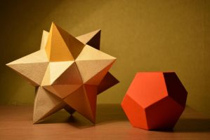 Little bit of origami by renchh