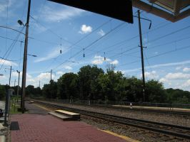140.  Train Station by mynti-stock