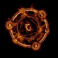 Golden Arcane Circle by Udine