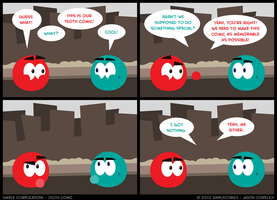 SC150 - 150th Comic by simpleCOMICS
