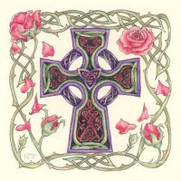 Celtic Cross by Flyttamouse