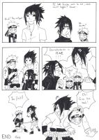 Sasuke VS Sasuke: He's mine! by MikaGx