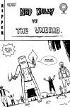 Ned Kelly Vs The Undead. by Andrewreed