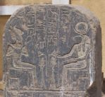 Stela detail with Osiris und Thoth by Sonnenkatze346