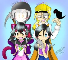 FanArt::Climber and Siti with Karl and Shima by Sitinuramjah