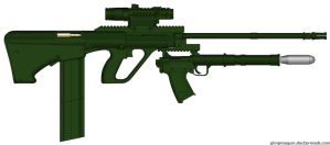 Tactical Assault AUG Para by b1nary-mast0r